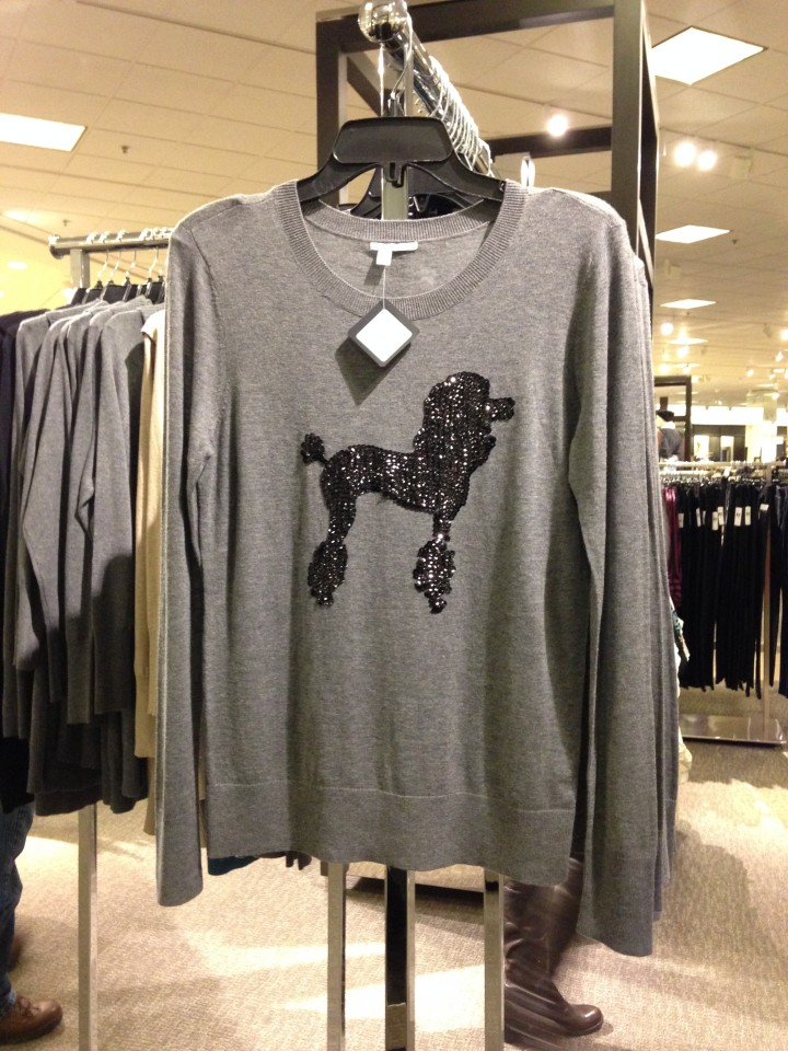 Sequined embellished sweaters