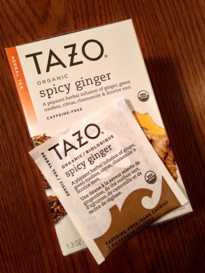 Tazo is available at grocers, online and drugstores for $4.50 to $4.99 per 20 piece box. Photo/Stephanie Sokol