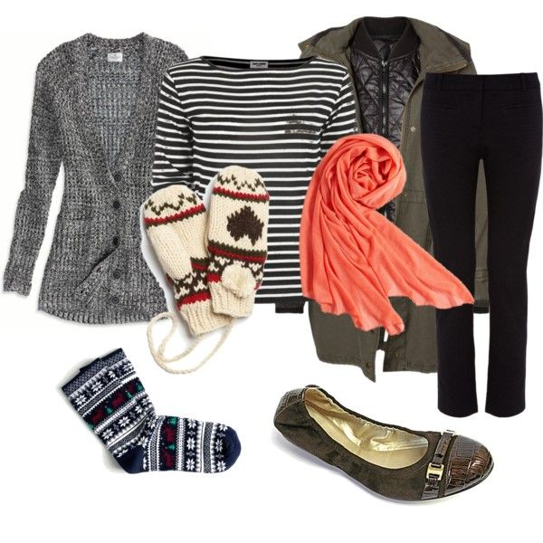 A sick day look I put together on Polyvore.