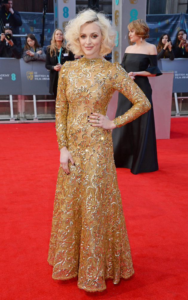 Fearne Cotton in Scaasi