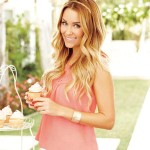 Lauren sporting a top from her Kohl's clothing line, LC Lauren Conrad. Photo/TEEN