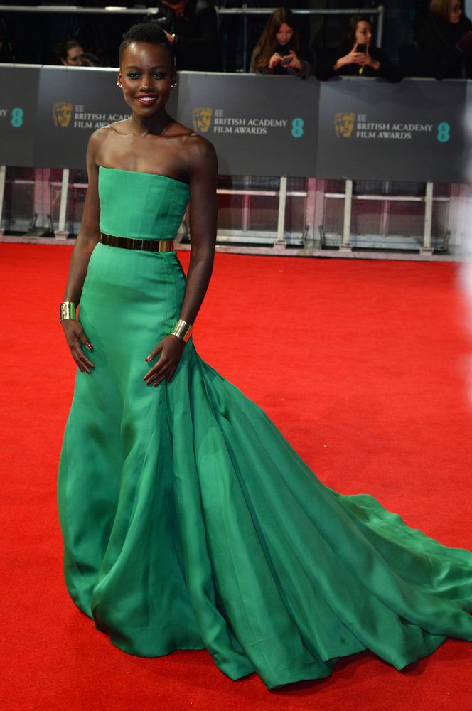 Lupita Nyong'o in Christian Dior Couture