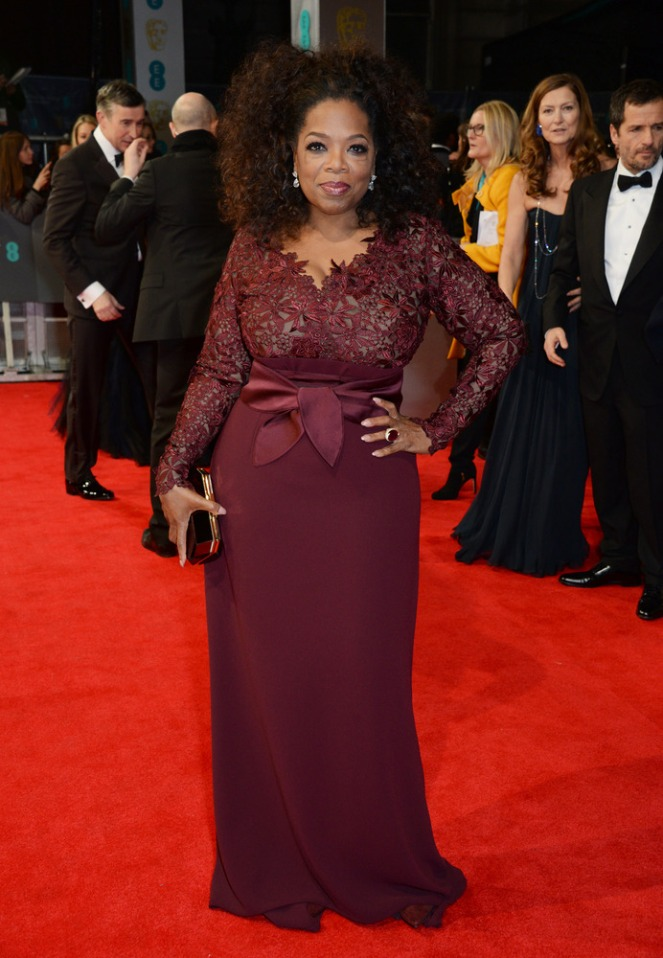 Oprah Winfrey in Stella McCartney