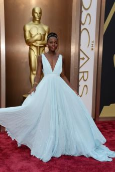 Best: When does Lupita Nyong'o not dress good? This pale blue Prada gown left her looking like royalty, making her one of the best dressed as usual.