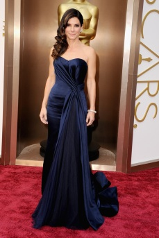 Best: This Alexander McQueen gown was perfect for Sandra Bullock. While she is older, she has the body to pull it off, and it fit her perfectly.
