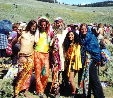 Hippies Movement of the 1960s. Courtesy photo