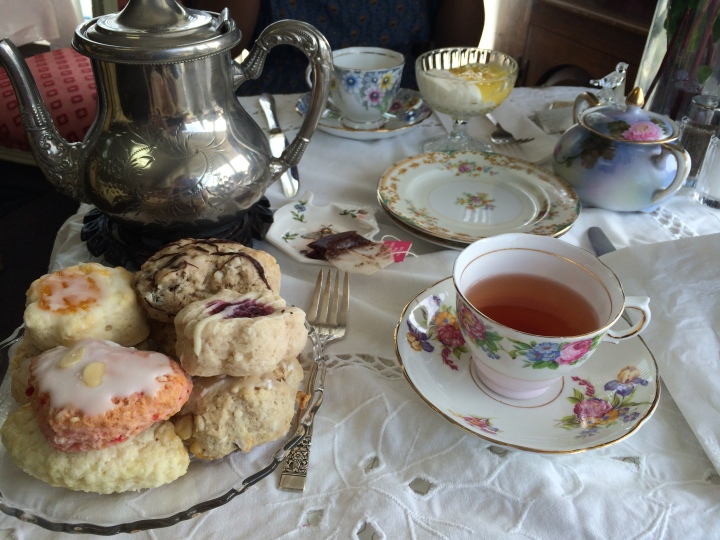 Just Delicious Scones/Royal Treat Tea Room: a fun and tasty afternoon