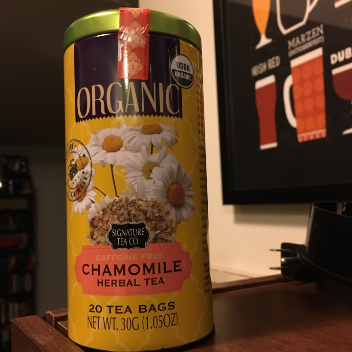 Tea review: Signature Tea Co.'s Organic Chamomile
