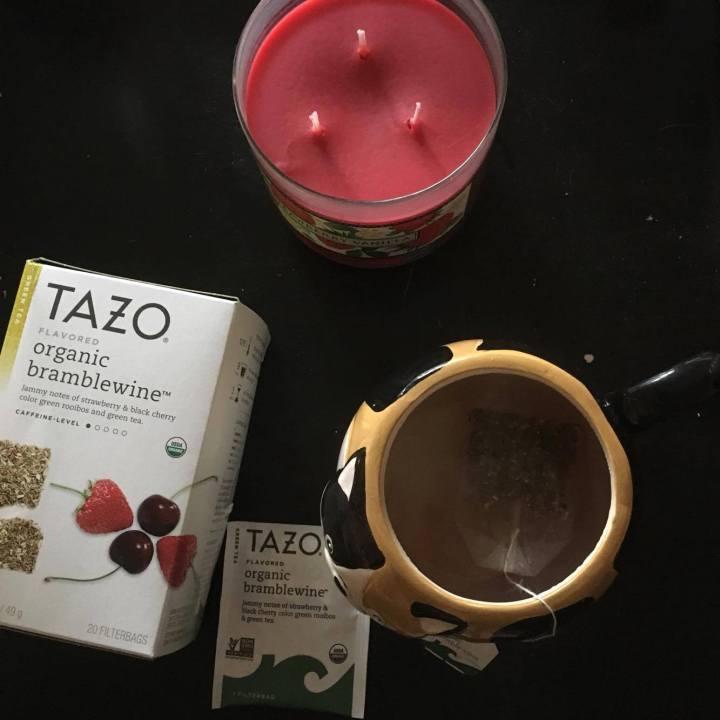 Tea review: Tazo organicbramblewine
