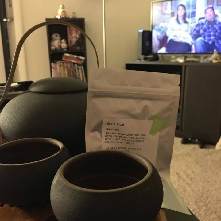 David's Tea Movie Night green tea + my thoughts on Gilmore Girls (spoiler alert)