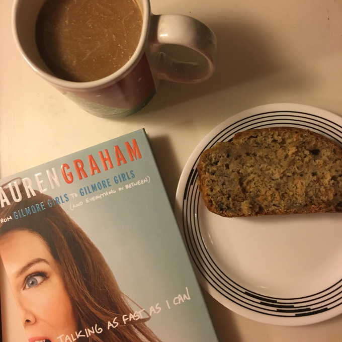 Banana bread + 'Talking as Fast as I Can'