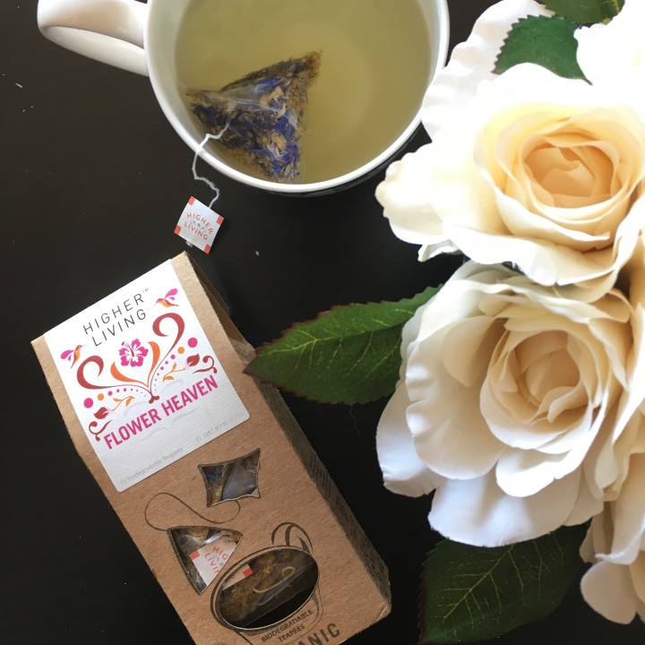 Review: Higher Living Flower Heaven herbal tea