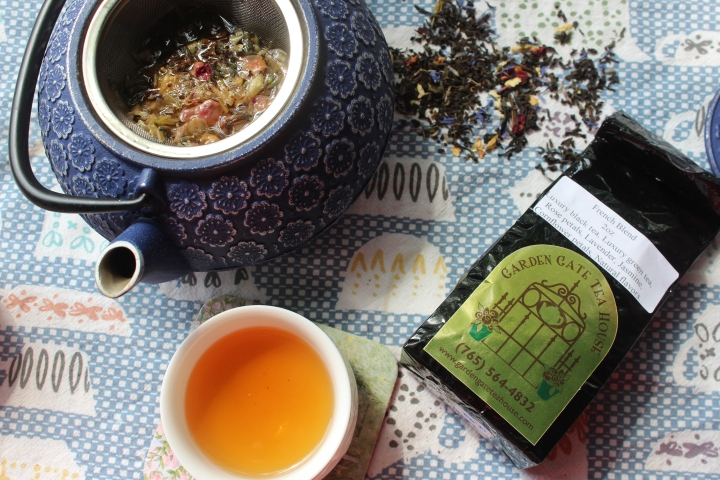 Review: French Blend tea from Garden Gate Tea House