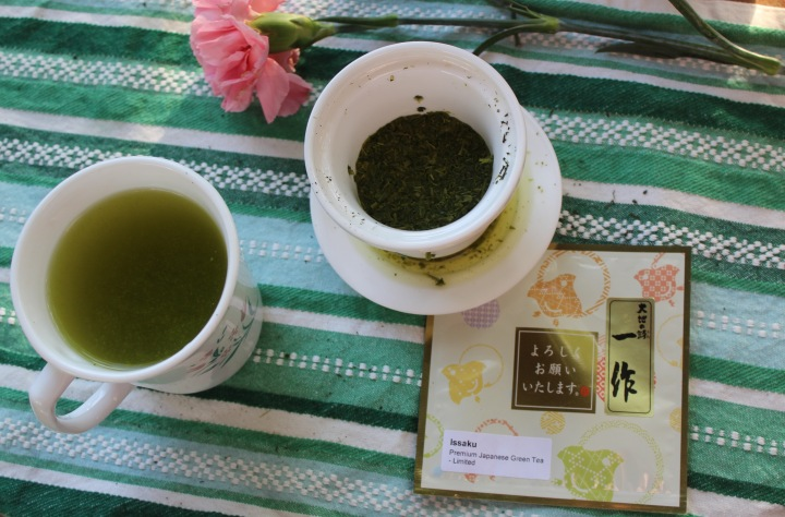 Tea review: Japanese Green Tea IN Issaku loose leaf