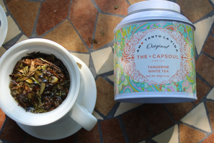 Review: The Capsoul Tangerine WhiteTea