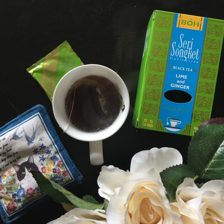 Tea review: Boh Seri Songket Black Tea Lime and Ginger