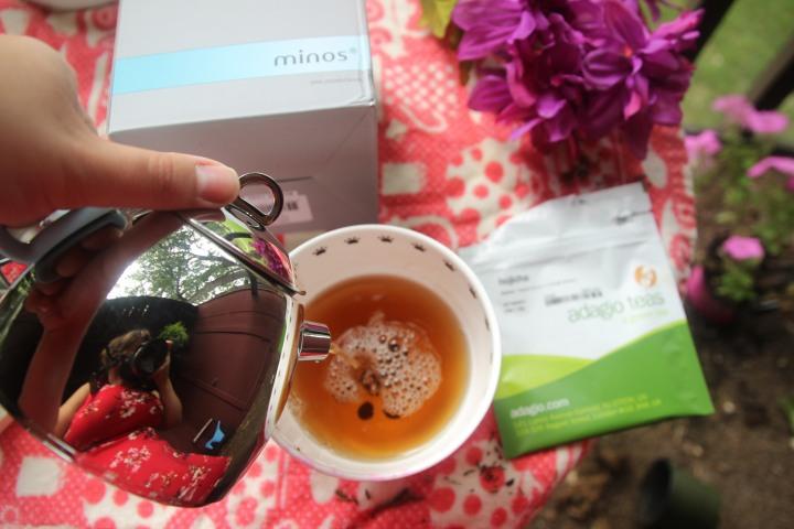 Minos Teapot set + Adagio Hojichagreen