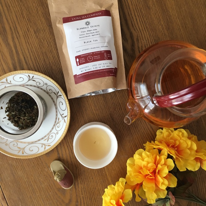 Review: Yatra Tea Company Glendale First Flush Black Tea