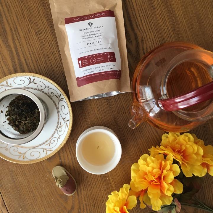 Review: Yatra Tea Company Glendale First Flush BlackTea