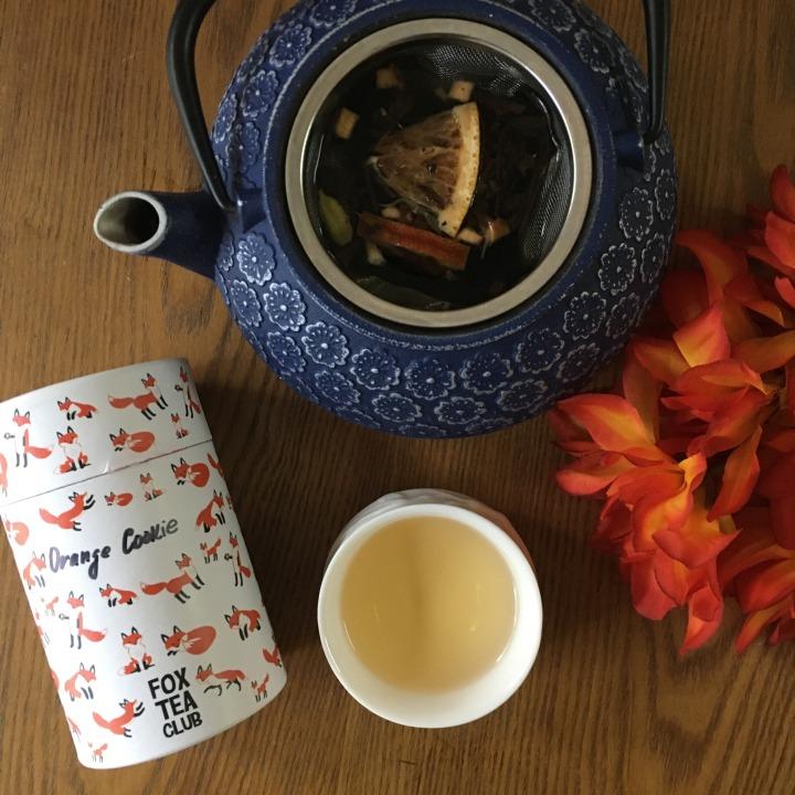 Fox Tea Club: Orange Cookie blacktea