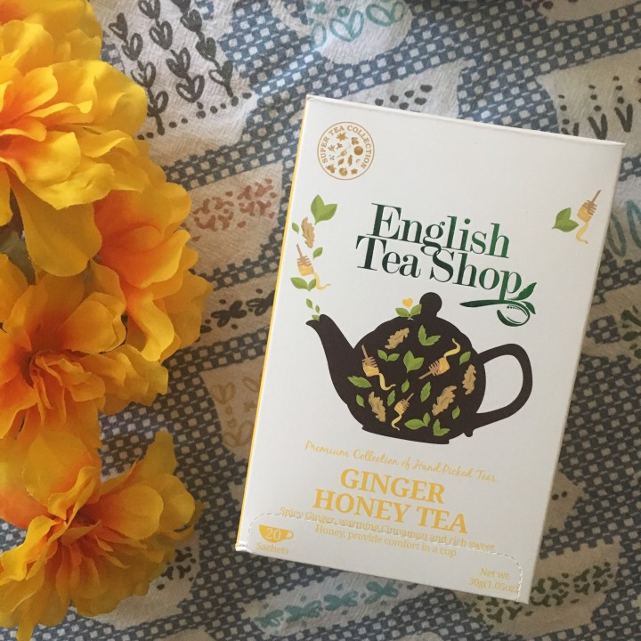 Tea Review: English Tea Shop Ginger Honey Tea