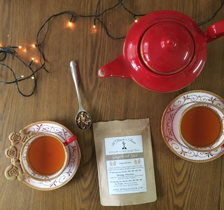 Review: St. Fiacre's Farm Gingerbread Spice rooibos