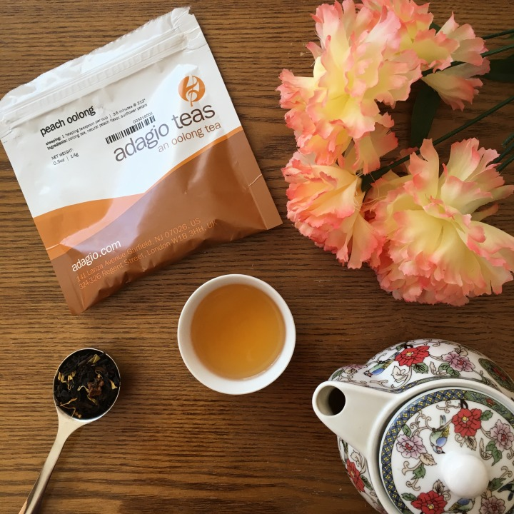 Adagio Peach Oolong + a special announcement
