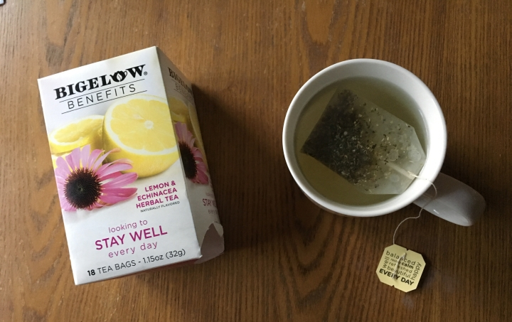 Teas to help boost your immunity +  a Bigelow Benefits Stay Well teareview