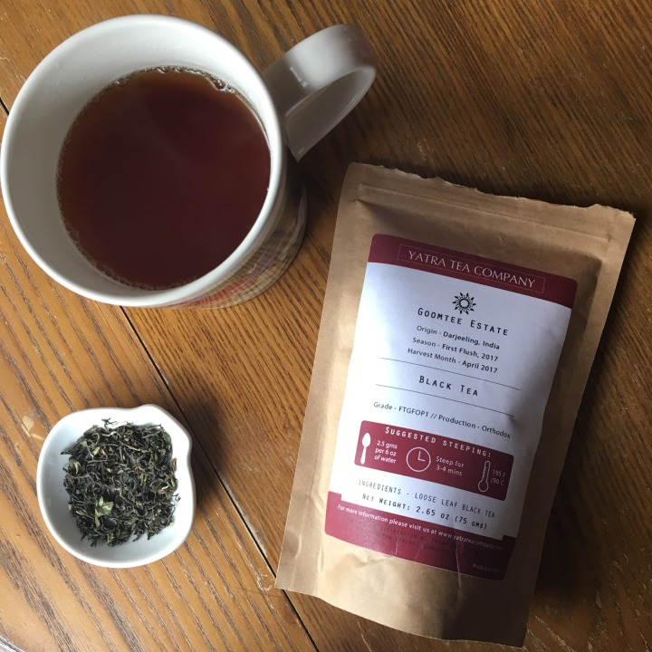 Review: Yatra Tea Company Goomtee Estate black tea