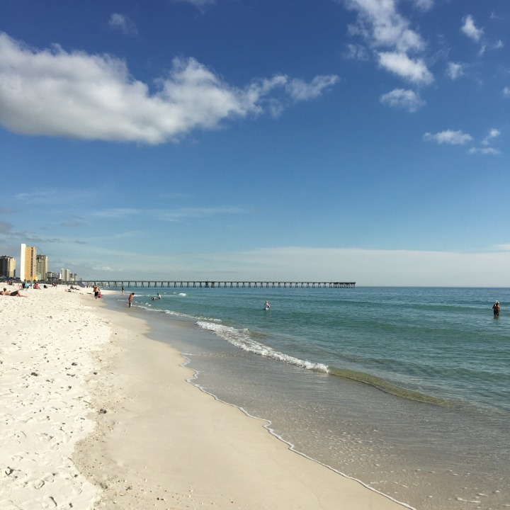 Travel journal: Panama City Beach, Florida + a DIY keepsake