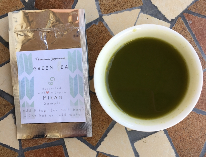 Review: Japanese Green Tea IN Mikan Matcha