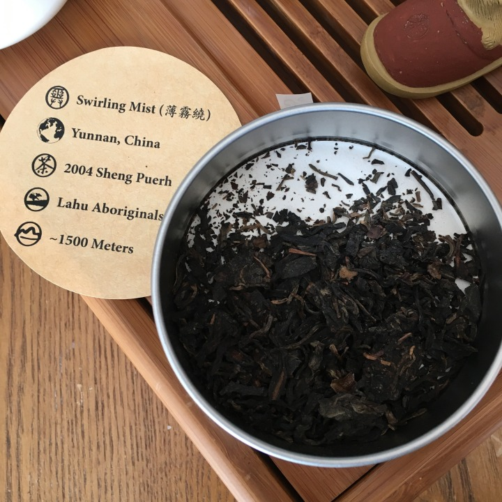 Global Tea Hut mag + 'Swirling Mist' 2004 sheng puerh