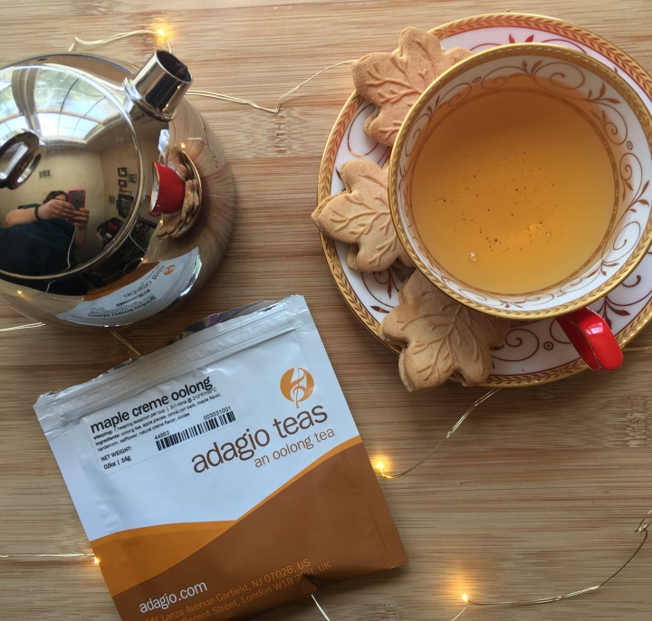 Review: Adagio Maple Creme Oolong