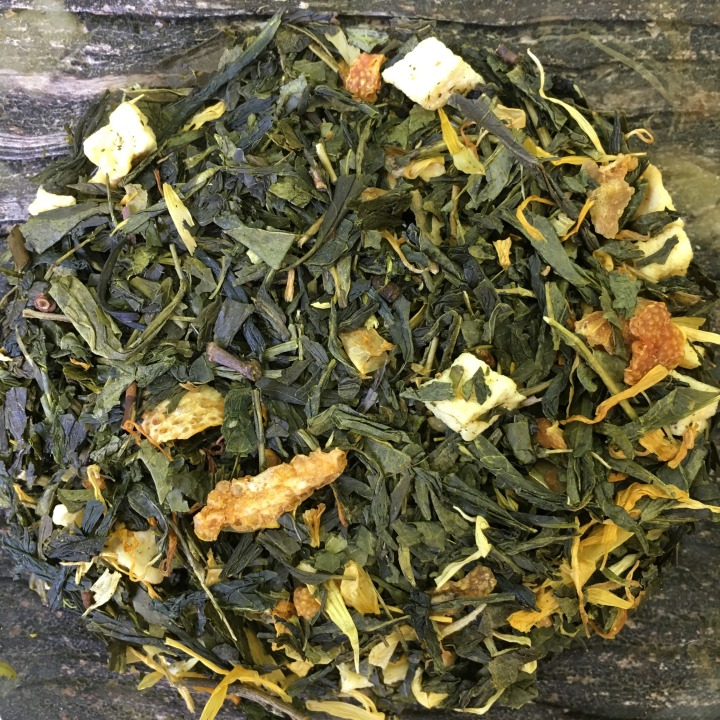 Tea review: Adagio teas lemon meringue green