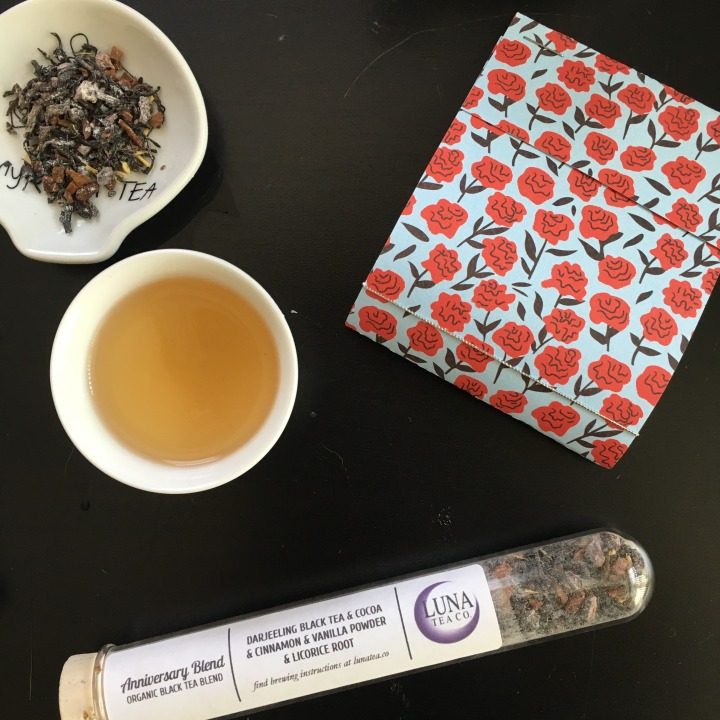 Tea review: Luna Tea Co.'s Anniversary Blend