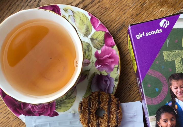Girl Scout Cookie and Tea Pairings
